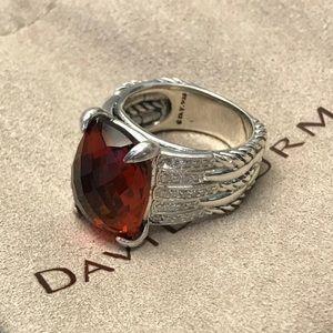 🌼DAVID YURMAN Silver Tides Citrine Diamonds